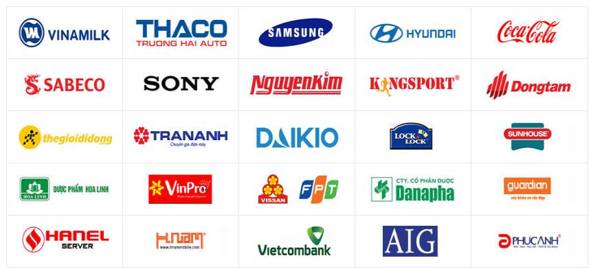 Danh sách khách hàng lớn của Navavina