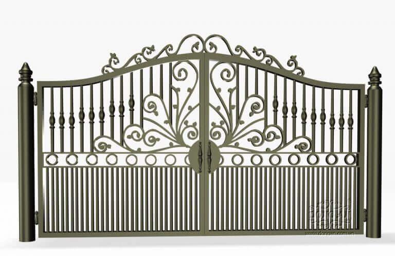 Mẫu cổng sắt