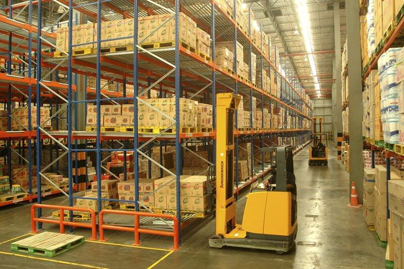 Hệ thống pallet sắt chứa hàng công nghiệp