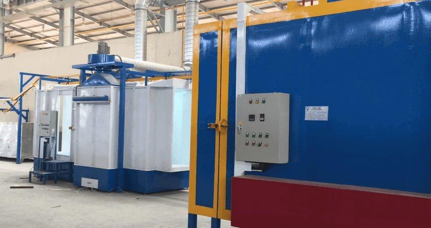 Hệ thống sơn tĩnh điện được nhiều doanh nghiệp tại Việt Nam sử dụng