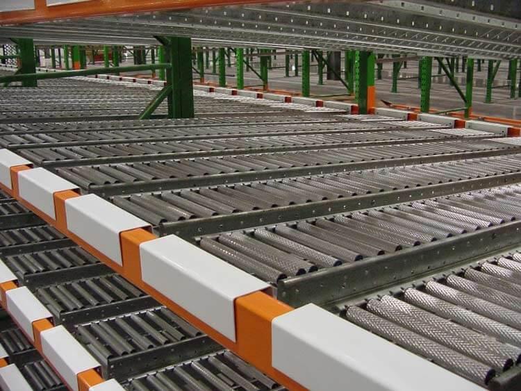 hệ thống kho kệ carton flow rack của Navavina cung cấp
