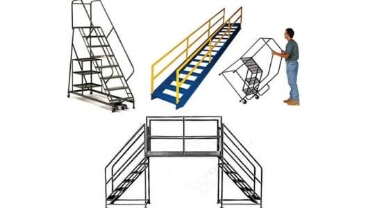 Mô hình xe thang nhà kho