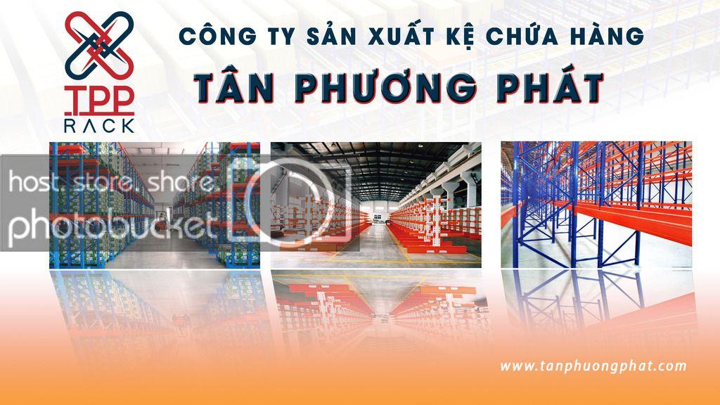 công ty sản xuất kệ chứa hàng Tân Phương phát