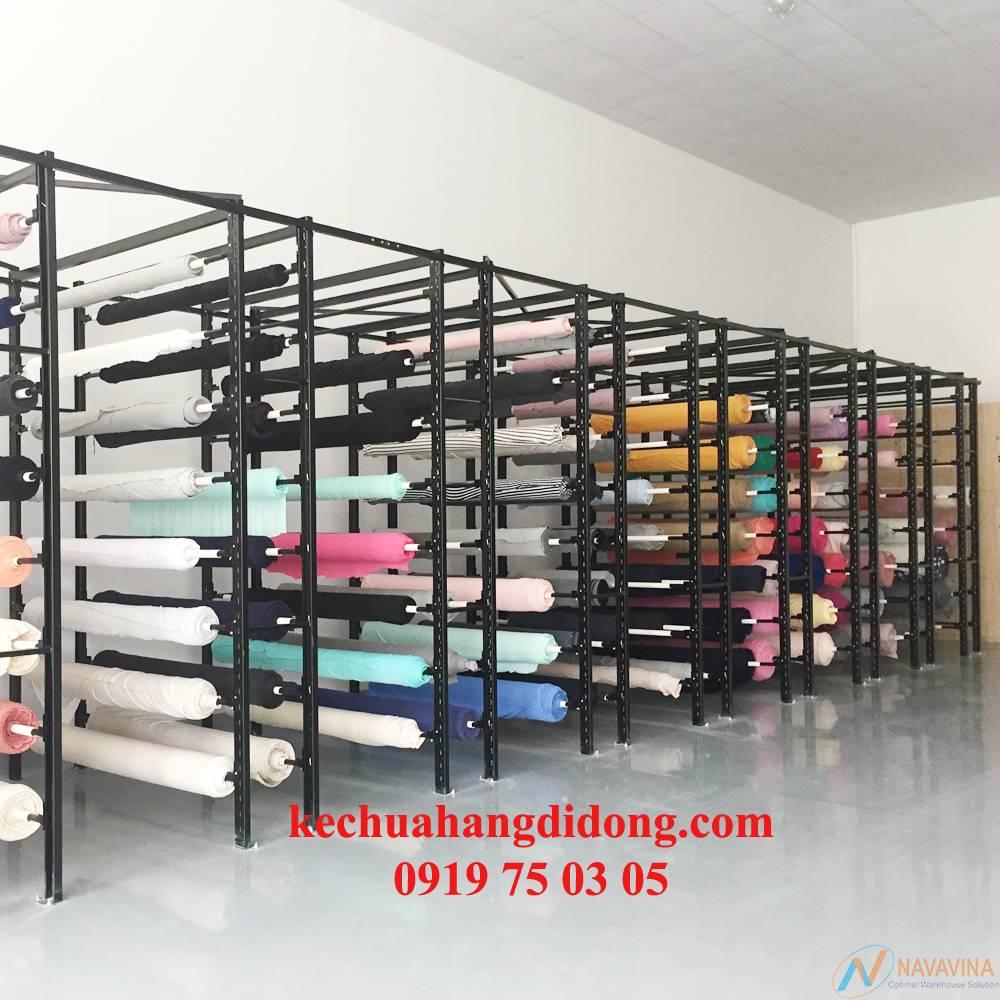 Địa chỉ mua kệ chứa vải uy tín chất lượng tại HCM