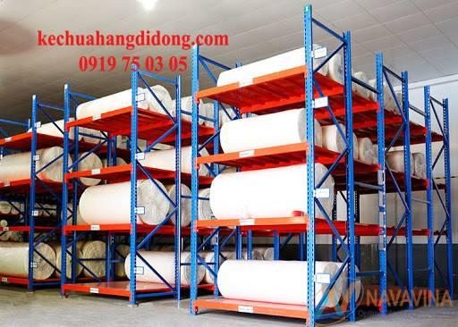 kệ chứa vải tải trọng nặng