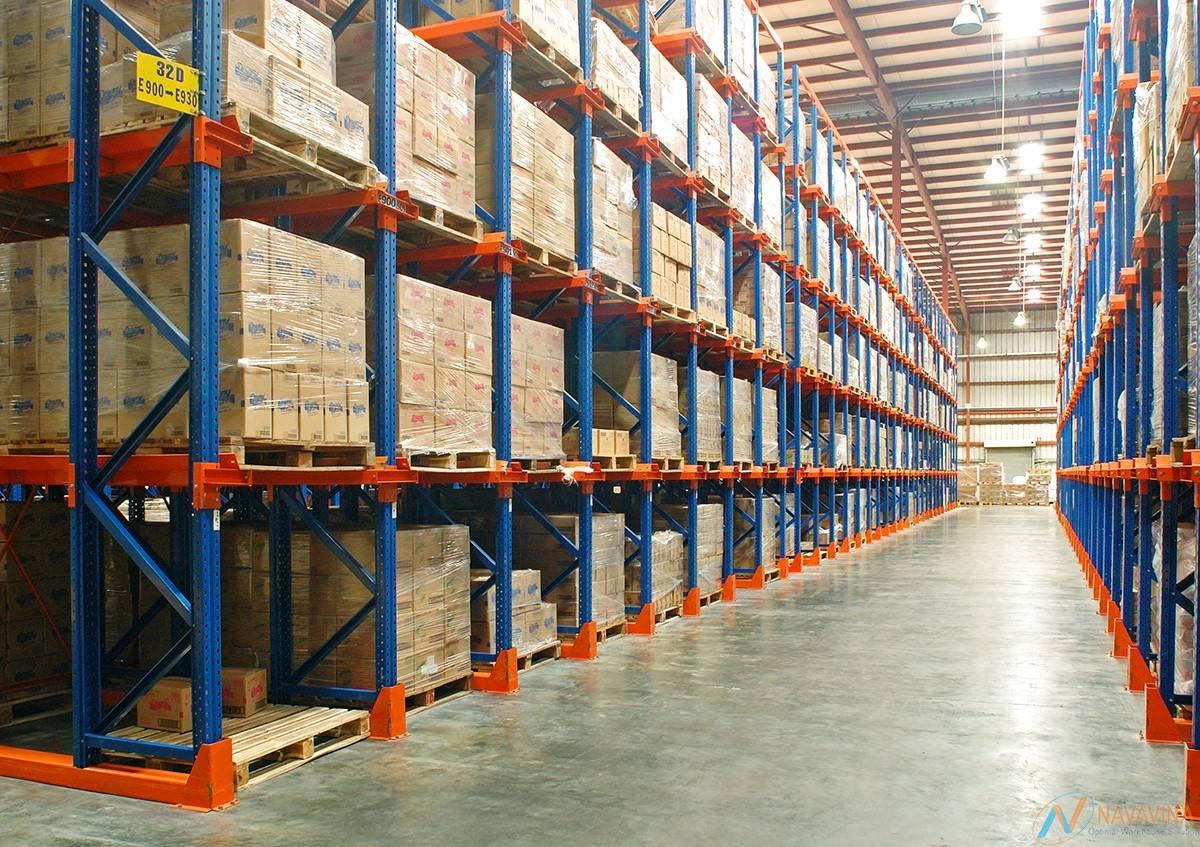 Kệ chứa hàng có bao nhiêu mức trọng tải? 2