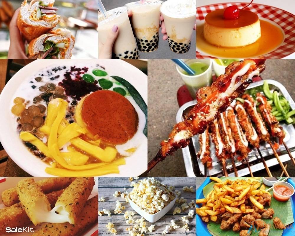 kinh doanh tại nhà đồ ăn vặt cho học sinh