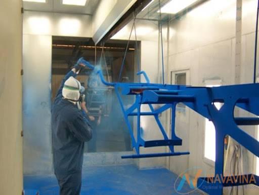 công ty sơn tĩnh điện phú quang trung