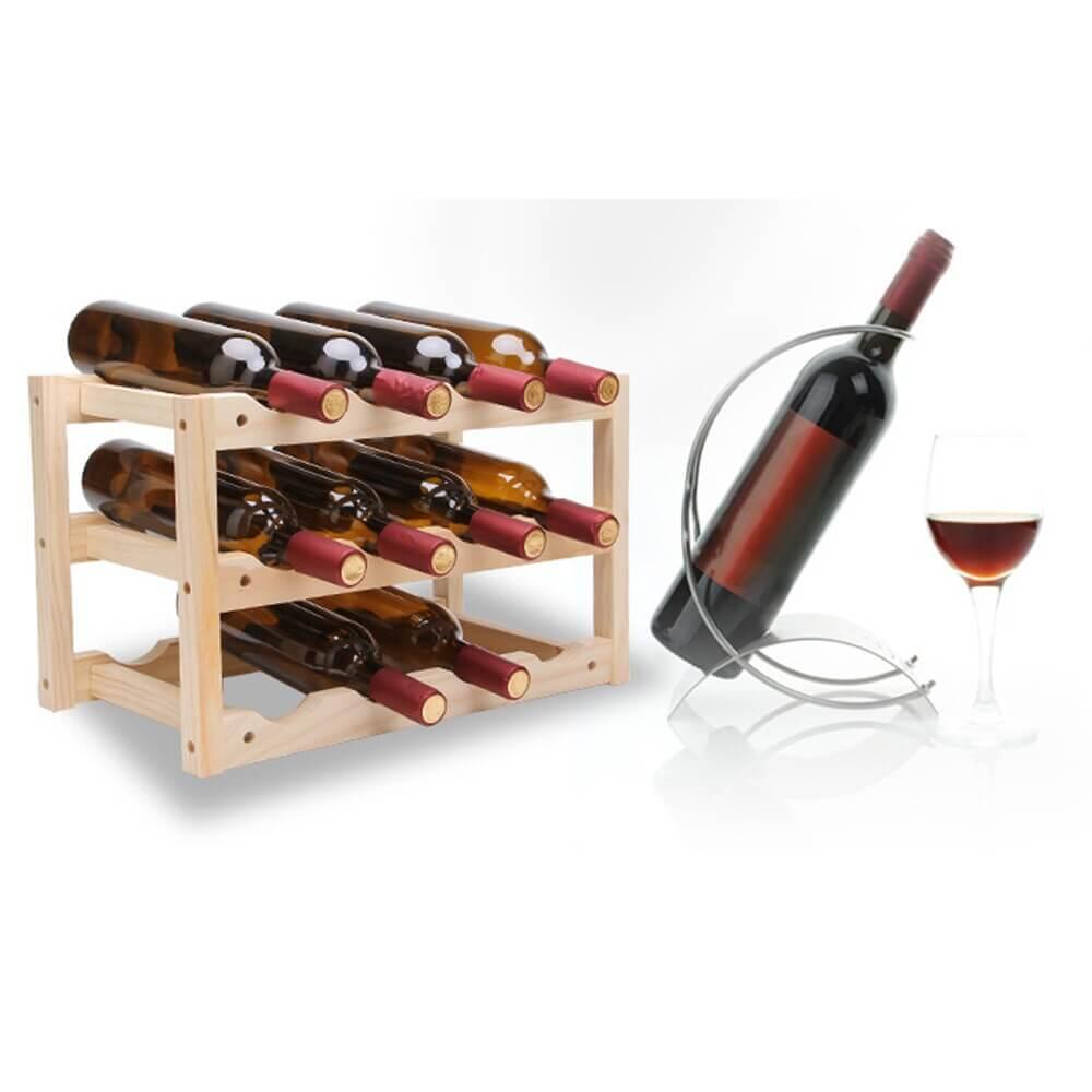 Kệ để rượu vang phong cách Eco