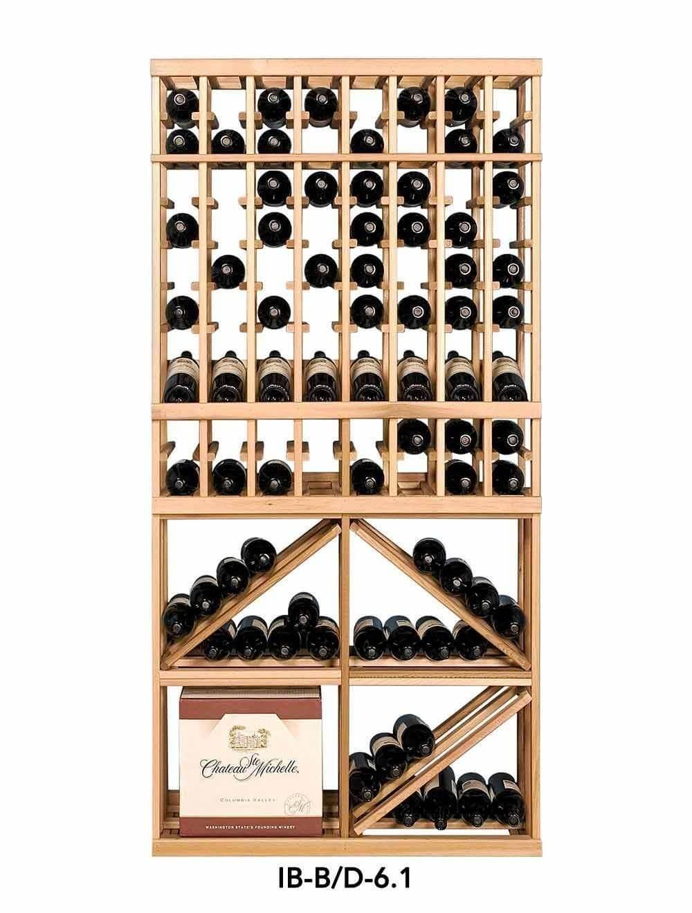Kệ để rượu vang phong cách sang trọng
