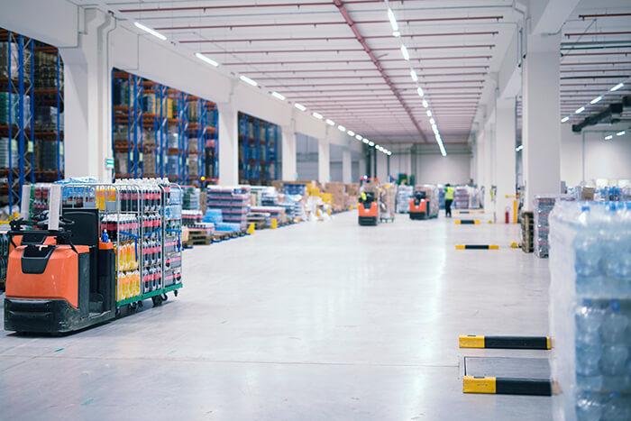 Nhà kho công nghiệp và các loại đơn vị tải